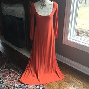 Blue Life dress in Coral, XS soft jersey